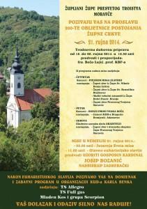 200-ta obljetnica Župe Presveto Trojstvo Moravče