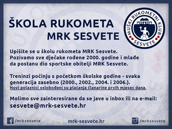 MRK Sesvete škola rukometa