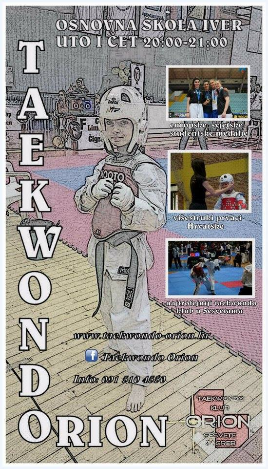 Taekwondo Orion u Iveru